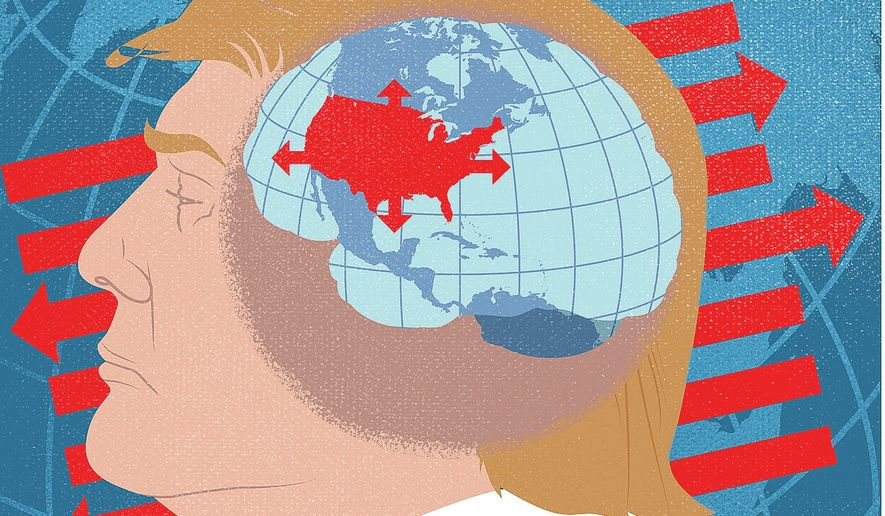 Global Strategy and the New President Illustration by Greg Groesch/The Washington Times