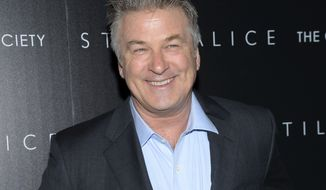 "In this Jan. 13, 2015 file photo, actor Alec Baldwin attends a special screening of his film ""Still Alice"" in New York.  In an Inauguration Day tweet, Mr. Baldwin said that the country was ""lost"" with Mr. Trump as president. (Photo by Evan Agostini/Invision/AP, File) **FILE**"