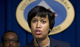 D.C. Mayor Muriel Bowser (Associated Press) **FILE**