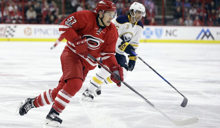 Carolina Hurricanes Jeff Skinner 53 Lines Up For A Shot