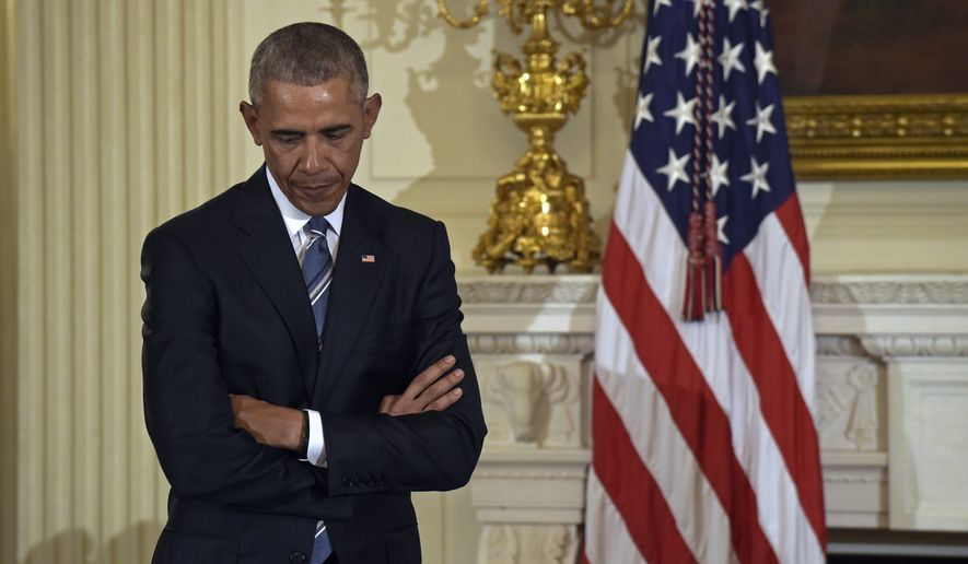 Congress spent less time in session, handled less business on the chamber floors and generally sputtered for much of President Obama's tenure. (Associated Press)