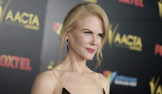 This jan. 6, 2017, file photo shows Nicole Kidman attending the 6th Annual AACTA International Awards held at Avalon Hollywood in Los Angeles. (Photo by Richard Shotwell/Invision/AP, File)