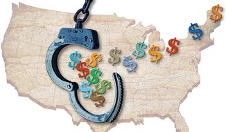 The Benefits of Criminal Justice Reform Illustration by Greg Groesch/The Washington Times