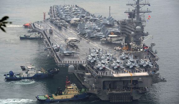 The Pentagon needs more fighter aircraft, an increase in the number of Navy ships, a higher number of Marines and Air Force personnel and a major modernization of the Army, says a white paper from the Senate Armed Services Committee chairman. (Associated Press)