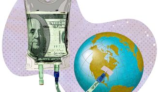 Wasting More Money on Climate Science Illustration by Greg Groesch/The Washington Times