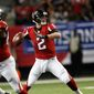 Atlanta Falcons quarterback Matt Ryan led the NFL in passing this season and tore up Seattle in a NFC divisional playoff victory last week. (Associated Press)