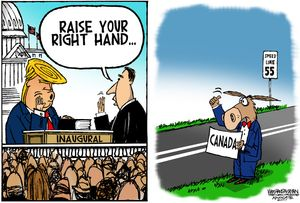 Raise your right hand ...