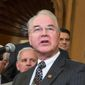 Tom Price says he will sell off his stock holdings to avoid any conflicts of interest or the appearance of a conflict. (Associated Press)