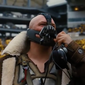 "Actor Tom Hardy is shown here as Bane, the archvillain in the 2012 Batman movie ""The Dark Knight Rises."" Keen observers on Twitter on Jan. 20, 2017 noticed that a line from President Donald Trump's inaugural address echoed one from Bane in ""Dark Knight."" (Screen capture from YouTube)"