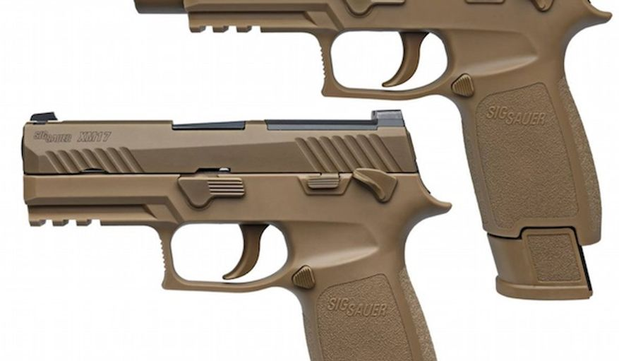 The U.S. Army's replacement for the M9 service pistol will be SIG SAUER's Model P320. The M9 has been used since the mid-1980s. (Facebook, Sig Sauer)