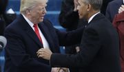 President-elect Donald Trump, left, shakes hands with President Barack Obama before the 58th Presidential Inauguration at the U.S. Capitol in Washington, Friday, Jan. 20, 2017. (AP Photo/Patrick Semansky)