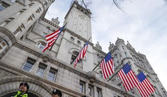 The Trump International Hotel is located in the Old Post Office Building on Pennsylvania Avenue Northwest. (Associated Press/File)