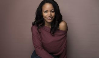 "Actress Chante Adams poses for a portrait to promote the film, ""Roxanne Roxanne,"" at the Music Lodge during the Sundance Film Festival on Saturday, Jan. 21, 2017, in Park City, Utah. (Photo by Taylor Jewell/Invision/AP)"