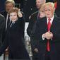 President Trump's son Barron is the first boy since John F. Kennedy Jr. to reside in the White House. (Associated Press)