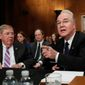 Health and Human Services Secretary-designate Rep. Tom Price faced tough questions on Capitol Hill by senators concerned over abortion restrictions. (Associated Press)