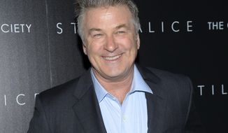 "FILE - In this Jan. 13, 2015 file photo, actor Alec Baldwin attends a special screening of his film ""Still Alice"" in New York. Baldwin will be back as the guest host on ""Saturday Night Live"" for the 17th time on Feb. 11. (Photo by Evan Agostini/Invision/AP, File)"