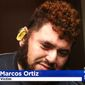Pittsburgh police are looking for a suspect linked to an attack on Salatiel Marcos Ortiz, 30, on Jan. 23, 2017. Mr. Marcos' ear had to be reattached at a hospital after it was bitten off during an argument over President Donald Trump. (CBS-2 Pittsburgh screenshot)