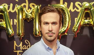 A wax figure of Ryan Gosling at the Berlin Madame Tussaud's Museum. (Facebook) [https://www.facebook.com/TussaudsBerlin/photos/pcb.10154147645112321/10154147643782321/?type=3&theater]