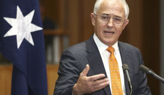 The Australian prime minister declined to comment on reports that President Trump had hung up on him after a testy exchange over a refugee program. (AP Photo/Rob Griffith, File)