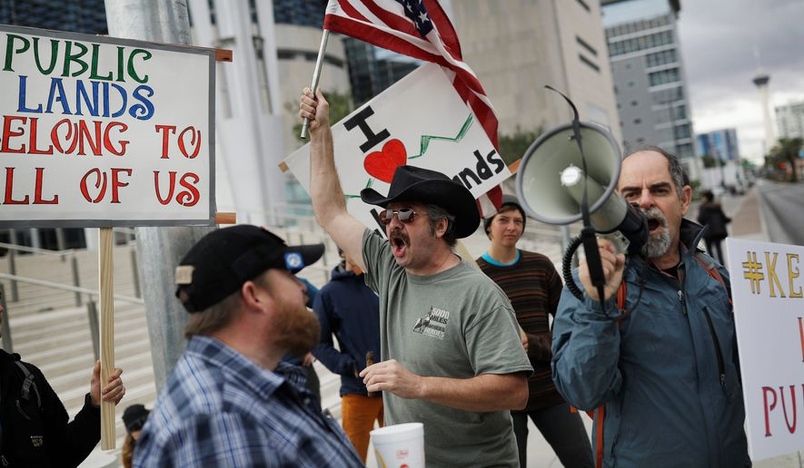 Jury selection began Monday in Nevada for the federal trial of six defendants accused of taking arms against federal agents herding cattle off public land near Nevada cattleman and states' rights advocate Cliven Bundy's ranch in April 2014. A BLM officer in the case is now accused of misconduct. (Associated Press)