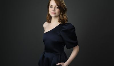 Emma Stone poses for a portrait at the 89th Academy Awards Nominees Luncheon at The Beverly Hilton Hotel on Monday, Feb. 6, 2017, in Beverly Hills, Calif. (Photo by Chris Pizzello/Invision/AP)