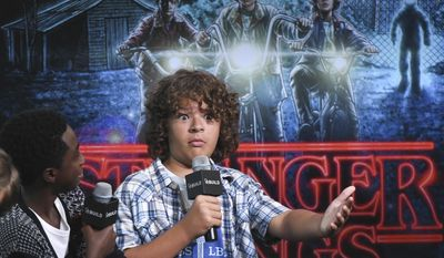 "FILE - In this Aug. 31, 2016, file photo, actor Gaten Matarazzo participates in the BUILD Speaker Series to discuss the Netflix series, ""Stranger Things"", at AOL Studios in New York. Netflix announced in a Super Bowl ad on Feb. 5, 2017, that the show will return for a second season on Oct. 31, 2017. (Photo by Evan Agostini/Invision/AP, File)"