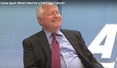Bill Kristol of The Weekly Standard attends an event at American Enterprise Institute on Feb. 7, 2017. (YouTube, AEI)
