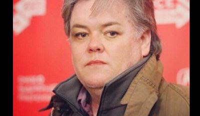 Rosie O'Donnell posts photo to Twitter of her as Steve Bannon.
