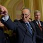 Senate Minority Leader Charles E. Schumer wants more specifics about the philosophy of Supreme Court nominee Neil Gorsuch. (Associated Press)