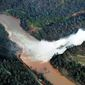 The California Department of Water Resources increased the amount of water being discharged from Lake Oroville in anticipation of storms later this week as well as snowmelt this spring, but criticism about neglect of the 50-year-old dam continues to flood the office of Gov. Jerry Brown. (Associated Press)