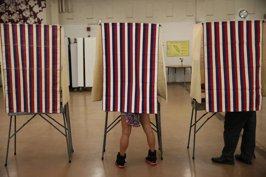 The National Hispanic Survey, conducted in June 2013, provides additional evidence for use by anti-voter fraud conservatives and bolsters analysis by Old Dominion professors who say as many as 2 million non-citizen Hispanics were illegally registered to vote. (ASSOCIATED PRESS)