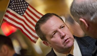 Corey Stewart, a tough-talking supporter of President Trump, barely lost the Virginia Republican gubernatorial primary despite polls showing him far behind. (Associated Press/File)