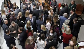 Lobbyists who represent the health care industry argue that leaving them out of the bill-writing process is bad for America. (Associated Press/File)