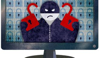 Increasing Cyber Vandalism Illustration by Greg Groesch/The Washington Times