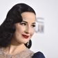 "Dita Von Teese said of her ""The Art of the Teese"" show, ""I could control the entire environment and create this goddesslike persona in burlesque."" (Associated Press)"
