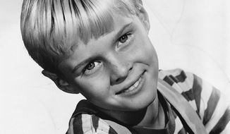 """Jay North starred as """"Dennis the Menace"""" in the late '50s and early '60s.  (Wikipedia)"""