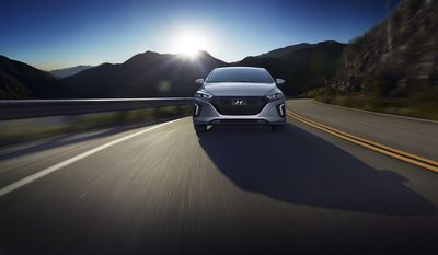 Overall, the ride and drive behind the wheel of the 2017 Hyundai Ioniq is an excellent experience with minimal noise and vibration. The handling and durability of the Ioniq will make you feel safe and secure and even better you know you will be doing your part for the planet. (Photo by Hyundai)
