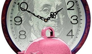 Retirement Planning Illustration by Greg Groesch/The Washington Times