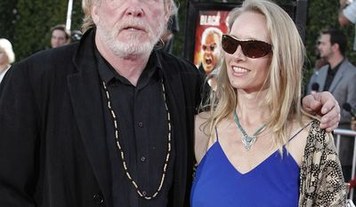 Nick Nolte's longtime partner Clytie Lane give birth to their daughter Sophie in 2007. Nolte was 66.
