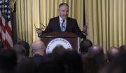Environmental Protection Agency (EPA) Administrator Scott Pruitt speaks to employees of the EPA in Washington, Tuesday, Feb. 21, 2017. (AP Photo/Susan Walsh)