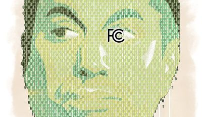 Illustration of Ajit Pai by Linas Garsys/The Washington Times