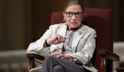 In this Feb. 6, 2017 file photo, Supreme Court Justice Ruth Bader Ginsburg speaks at Stanford University in Stanford, Calif. (AP Photo/Marcio Jose Sanchez, File)