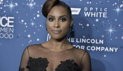 Issa Rae attends the 10th Annual Essence Black Women in Hollywood Awards ceremony on Thursday, Feb. 23, 2017, in Beverly Hills, Calif. (Photo by Richard Shotwell/Invision/AP)