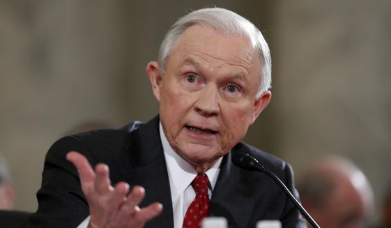Jeff Sessions testified before the Senate Judiciary Committee in January. (Associated Press/File)