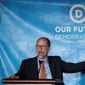 """Our unity is our greatest strength. And frankly, our unity is Donald Trump's greatest nightmare,"" newly elected Democratic National Committee Chairman Tom Perez proclaimed Saturday in his victory speech. (Associated Press)"