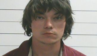 Neilson Rizutto is seen in an undated photo provided by the Orleans Parish Sheriff's Office. The New Orleans Police Department issued a statement Sunday, Feb. 26, 2017, identifying Rizutto as the man who allegedly plowed into a crowd enjoying a Mardi Gras parade Saturday in New Orleans while intoxicated. (Orleans Parish Sheriff's Office via AP)