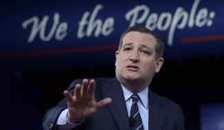 Sen. Ted Cruz, R-Texas speaks at the Conservative Political Action Conference (CPAC) in Oxon Hill, Md., Thursday, Feb. 23, 2017. (AP Photo/Susan Walsh) ** FILE **