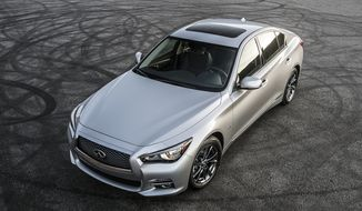 For Infiniti fans, the automaker debuted the Q50 Signature edition at the Chicago Auto Show earlier this month with an eye toward offering stronger engines and sexier, sure-to-be- noticed wheels. (Photo by Infiniti).