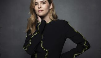 """FILE - This Jan. 20, 2017 file photo shows actress Zoey Deutch who stars in, """"Before I Fall"""", at the Music Lodge during the Sundance Film Festival in Park City, Utah. (Photo by Taylor Jewell/Invision/AP, File)"""