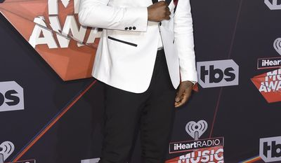 Jason Derulo arrives at the iHeartRadio Music Awards at the Forum on Sunday, March 5, 2017, in Inglewood, Calif. (Photo by Jordan Strauss/Invision/AP)